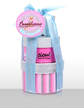 beautilicious shake lather and frizz bath stack £3.00