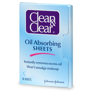 oil absorbing sheets £3.30